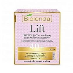 Moisturizing anti-wrinkle lifting cream 40+ day