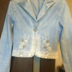 Джинсовий куртка-піджак