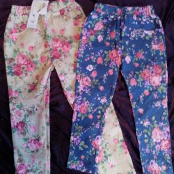 Kızlar için pantolon ve kot pantolon