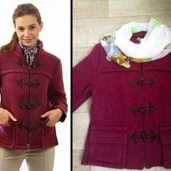 New coats wool Germany r. 48-50