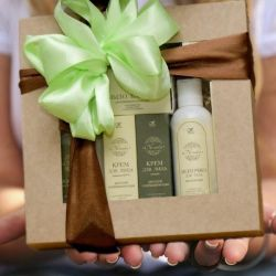 Gift sets of different brands in the range