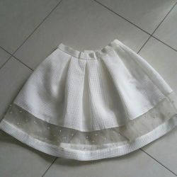 The skirt is in excellent condition.