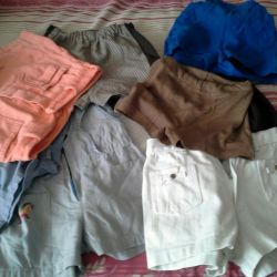 Clothing for a boy from 2 to 7-8 years.