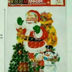Panel - sticker Santa Claus, new year