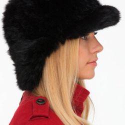 Ushanka tavşan şapkası