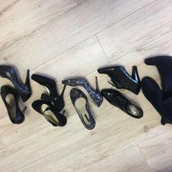 Çizmeler 37 ayakkabı