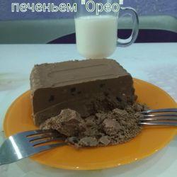 Молочный шоколад с печеньками
