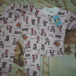 пижамы детские новые ростовка – 56,98,104,110.