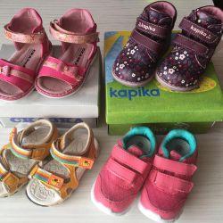 Обувь для девочки 19-20 р.