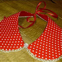 Removable collar ~ 350 p.