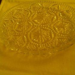 Vase de cristal