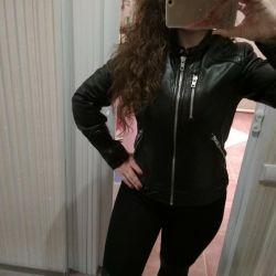 New leather jacket (naturalka)