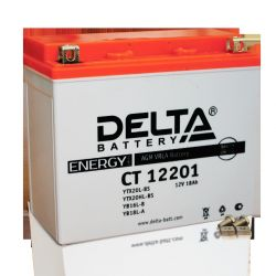 Battery DELTA CT 12201 (YTX20L-BS) AGM