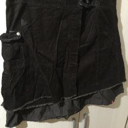 βελούδο φούστα