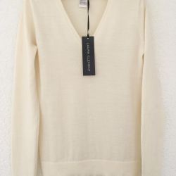 Pullover from merino wool, size 46/48