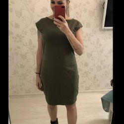 New knitted Dress khaki 46/48