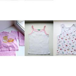 T-shirts 86-92