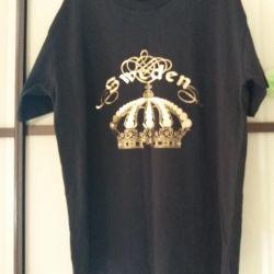 Tricou negru (100% bumbac)