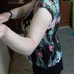 Bright light blouse