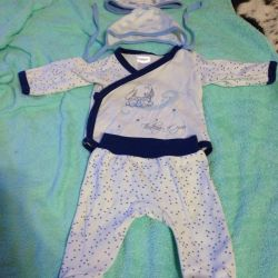 Kit for a newborn
