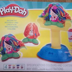 Τρελό Hairstyles Play-Doh