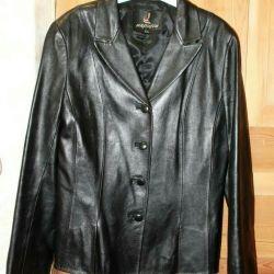 DERİ! kadınların gençlik ceketi ceket, naturalk