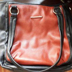 Τσάντα από γνήσιο δέρμα!