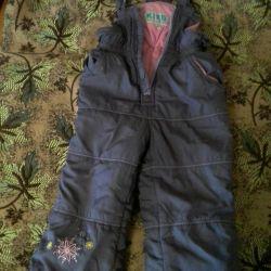 Children's winter pants