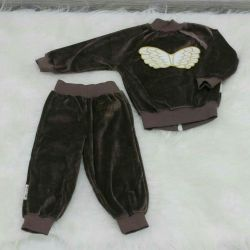 Velor suit new