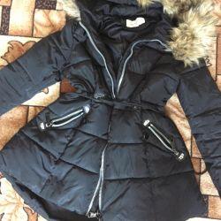 Maternity down jacket