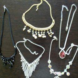 Earrings, Beads