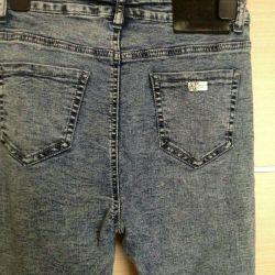 Новые джинсы утяжка