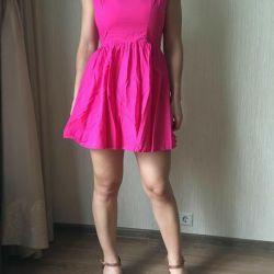New TOPSHOP dress fuchsia original