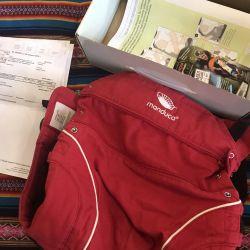 Ergo backpack carrying manduka