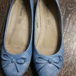 παπούτσια μπαλέτου μεγέθους 39-40