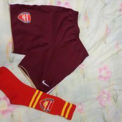 Shorts and knee socks 122-128
