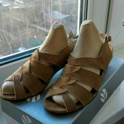 Orthopedic sandals are new. Germany.