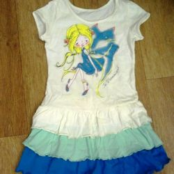 Dress for 2-3 years cotton 100%