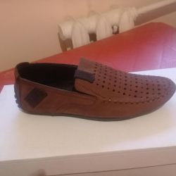 New leather loafers 34.35
