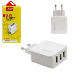 3 βύσμα USB (δίκτυο) LDNIO
