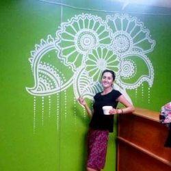 Pictura in perete