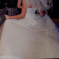 Foreign wedding dress