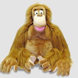 Величезна мавпа-орангутанг.