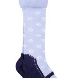 Külot 98-104 nehri olan bir çorapla maviye hortumlar