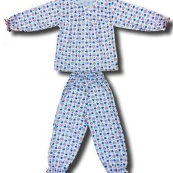 New Pajamas with a yoke for girls (buttons).