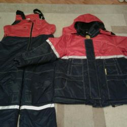 new winter suit. great