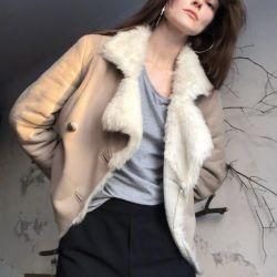 fur sheepskin coat