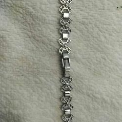 Bracelet for watches clover metal new