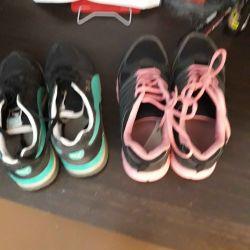 Spor Ayakkabısı, Kullanılmış