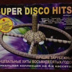 Super disco hits 80 cassettes